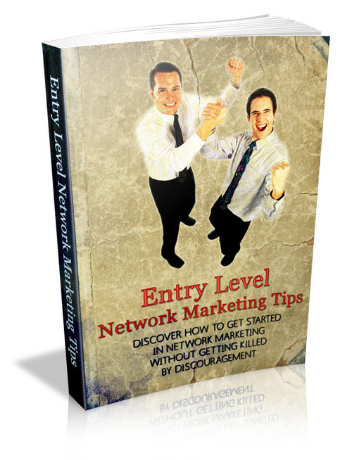 Product picture Entry Level Network Marketing Tips